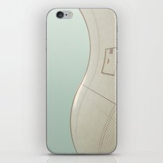 wavy wall iPhone & iPod Skin