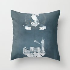 Sick (logo) Throw Pillow