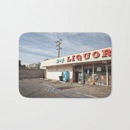 Liquor Store Santa Monica Bath Mat