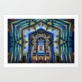 Kaleidoscape: Guadalajara Art Print