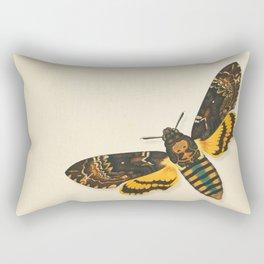 Skull – Totenkopf Nachtfalter Rectangular Pillow