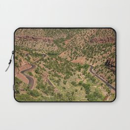 Mt. Carmel Highway's Twists & Turns - Zion National Park, Utah Laptop Sleeve