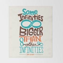 Some Infinities Are Bigger Than Other Infinities Throw Blanket