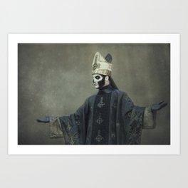 Ghost - Papa Emeritus III Art Print