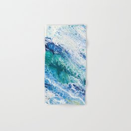 Tides  - Abstract fluid painting Hand & Bath Towel
