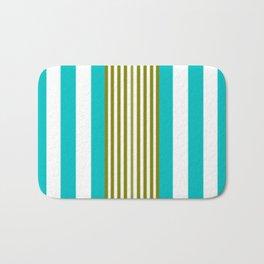 Simply Blue Stripe Bath Mat