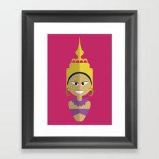 Thai Doll Framed Art Print