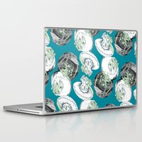 jelly fish Laptop & iPad Skins featuring Jelly Fish by Eleanor V R Smith