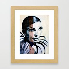 Lady Sphinx Framed Art Print