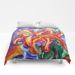 Bright Flowers Comforters