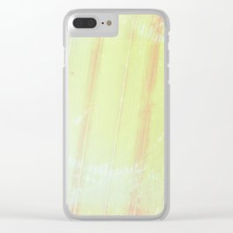 Summer Palms Clear iPhone Case