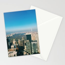 Central Park Overview Stationery Cards
