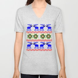 Ugly Sweater ( Deal With It ) Unisex V-Neck