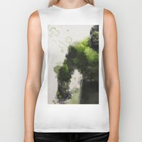 water colour Biker Tanks featuring Water Colour Hulk by Scofield Designs