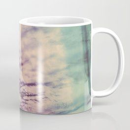 Purple Blue Fluorite from our Earth Coffee Mug
