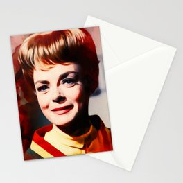 June Lockhart, Vintage Actress Stationery Cards