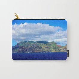 Kauai's Bright Welcome Carry-All Pouch