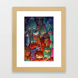 The Army of Me Framed Art Print
