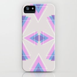 TRIANGLES IN COLOUR iPhone Case