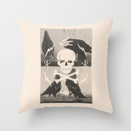 Sic Vitae Throw Pillow
