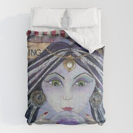 THE AMAZING - Gypsy Witch, Fortune Teller Comforters