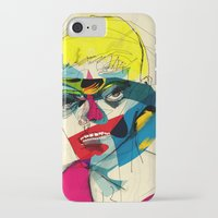 kandinsky iPhone & iPod Cases featuring 041112 by Alvaro Tapia Hidalgo