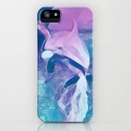 Dolphin Art iPhone Case