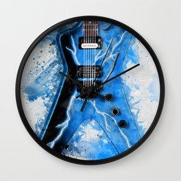 Dimebag Darrell's Guitar Wall Clock