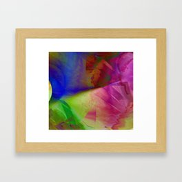 Multicolored abstract 2016 / 019 Framed Art Print