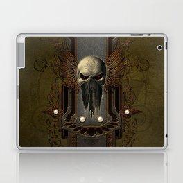 Amazing skull with wings Laptop & iPad Skin