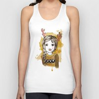 hippie Tank Tops featuring Hippie by Janreh