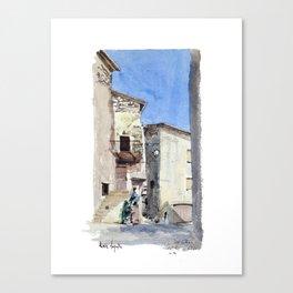 Le Viol du Roux - Chatillon en Diois Canvas Print