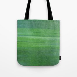 Abstract modern lime forest green stripes pattern Tote Bag