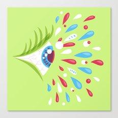 Psychedelic eye Canvas Print