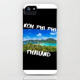 Koh Phi Phi iPhone Case