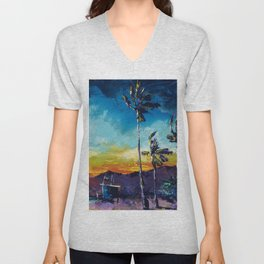 Tower Life 1 Unisex V-Neck