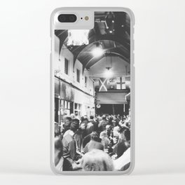 Inside Brixton Village Clear iPhone Case