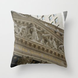 Finance Bros Throw Pillow