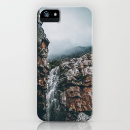 WATERFALL - Table Mountain, South Africa iPhone Case