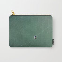 In the spider's net Carry-All Pouch