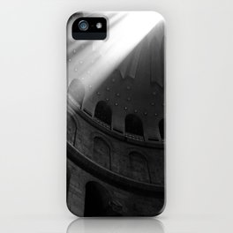 Good Friday at the Church of the Holy Sepulcher iPhone Case