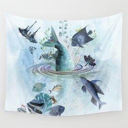 Gone Fishin' Wall Tapestry