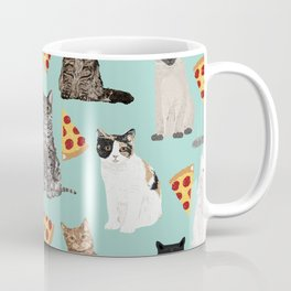 Cats pizza slices food cat lover pet gifts must have cat breeds Coffee Mug
