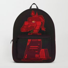 KNIGHT / Black / Chess Backpack