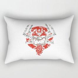TIMELESS DEMON Rectangular Pillow