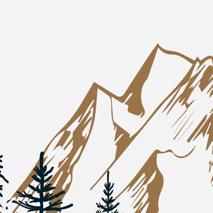 mountain # 4 Leggings