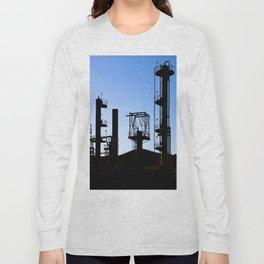 Oil Refinery Long Sleeve T-shirt