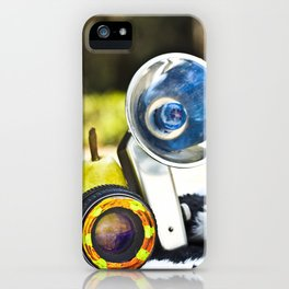 Vintage Pear Camera iPhone Case
