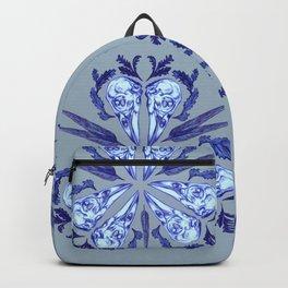 Itty bitty bones blue Backpack