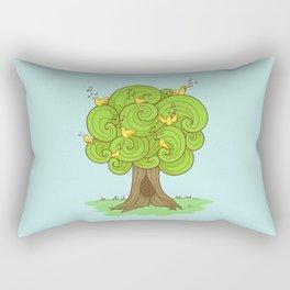 The Music Tree Rectangular Pillow